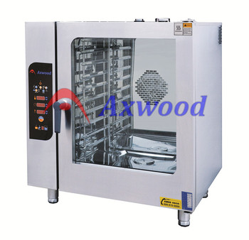 10 trays 1/1GN 380V combi steam oven/electric baking oven/AXEWOOD combi oven