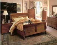 Mahogany Sleigh Bedroom Plantation Collection