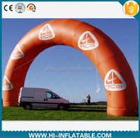 giant advertising High Quality customized logo inflatable arch for sale