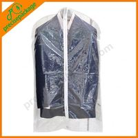 Non woven Garment Bag Colorful Suit Cover
