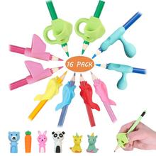 Pencil Grips, JARLINK Pencil Grips for Kids Handwriting Aid Grip Trainer Posture Correction Finger Grip for Kids, Adults