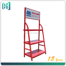 retail shop metal shelves engine oil display rack/ perfume oil display/ oil display rack