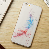Super thin tpu cell phone case For Iphone 6