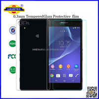 Tempered Glass Screen Protector Flim For Sony Xperia Z2 (0.3mm ,2.5D, 9H )
