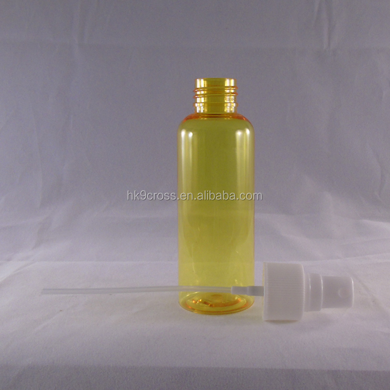 30ml PET plastic refillable lotion pump bottles mist spray bottle With Sprayer For Cosmetic