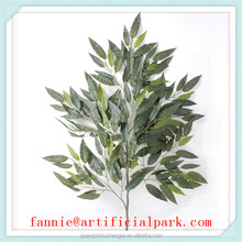 LF081601 artificial mango leaf /hot sale plastic leafs for decorations