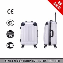 2016 fashion cut abs+pc trolley case suitcase bag