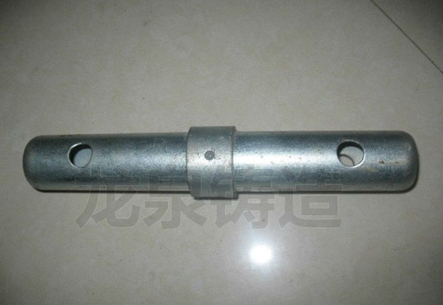 Scaffolding joint coupling pin