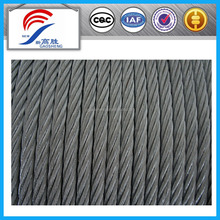 7x19 steel wire rope modulus of elasticity