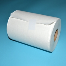 1ply 80m Embossed Virgin Pulp Biodegradable Medical Paper Towel for hospital