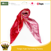 Fatory price islamic wholesalers fashion hijab pure silk scarf