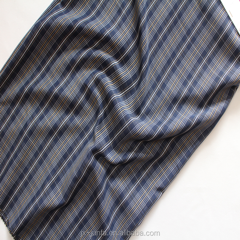 100%polyester yarn dyed plaid koshibo fabric for men shirts and Arabian robes