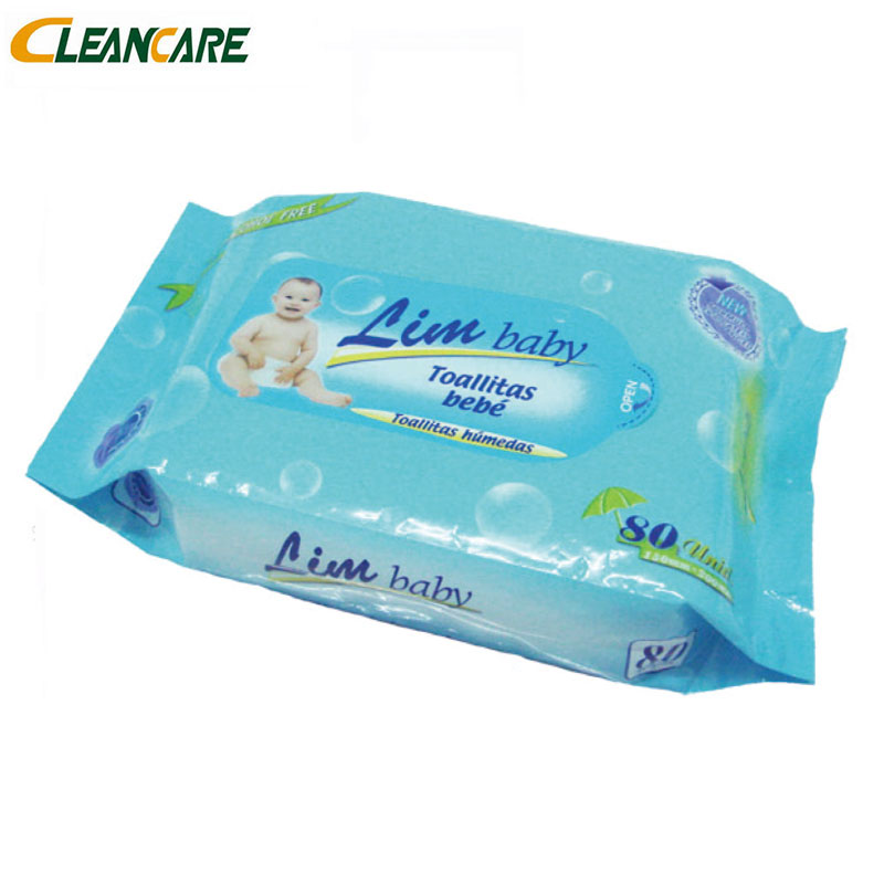 China Manufactures Factory Disposable Hypoallergenic Facial Cleaning 80Pcs Tea Tree Baby Oil Wipes In USA