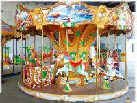 indoor children carousel rides