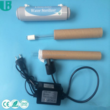 jiangsu 6W small uv water sterilizer 0.5gpm for ro system CE
