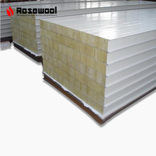 Acoustic 50mm heat insulation mineral wool sandwich panel