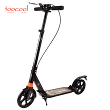 HYA-02 big wheel best kick push scooter for adults