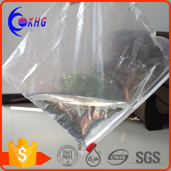 Promotional PVC liquid packaging plastic bag