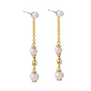 2017 Latest Design Jewelry Vintage Pearl Earrings Dangle Drop Earrings Dropshipping Women Hippie Alloy Accesories