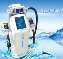 fat freezing new technology Coolplas vacuum cooling beauty Machine ice freezing fat reduce body slimming device