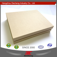 Small paper printed gift packing color box