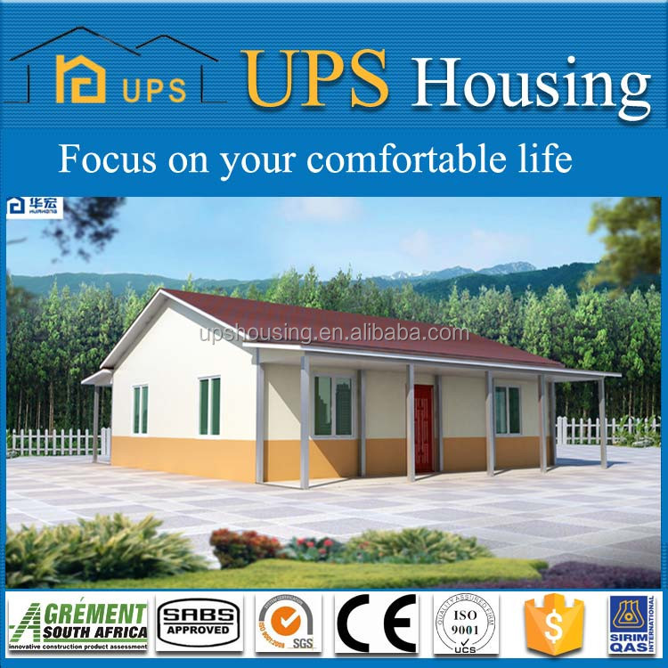 2017 China prefab villa prefabricated house Manufacturer