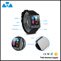 Smart Watch Android Pedometer,Bluetooth 4.0 Sync Smart Phone Bracelet(U8)