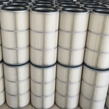 High Efficient Pulse Cleaning Spun Bond Pleated Filter Cartridge