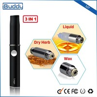 2015 New Products For Promotions Original Manufacturer Buddy MP 3 in 1vapor pen blank cigarette packs
