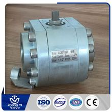 stainless steel 3pc ball valve cf8m 1000 wog seat ring