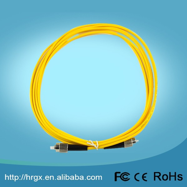 Fiber optic patch cord FC-SC/ST/FC singlemode simplex 3m patch cord