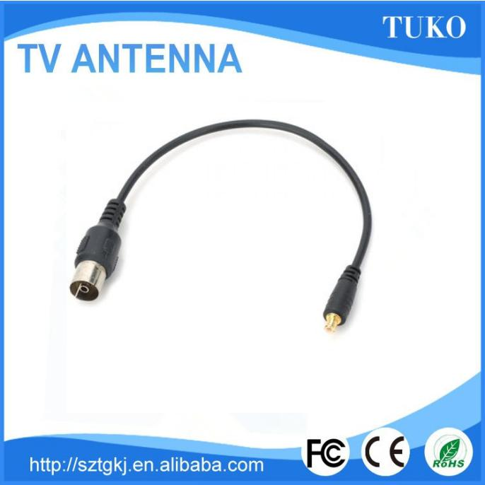 Factory supply DVB-T RF coaxial connect antena MCX Connector TV