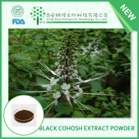 Golden suppliers provide black cohosh extract black cohosh 8% extract Triterpenoid saponis 2.5% 5% 8%