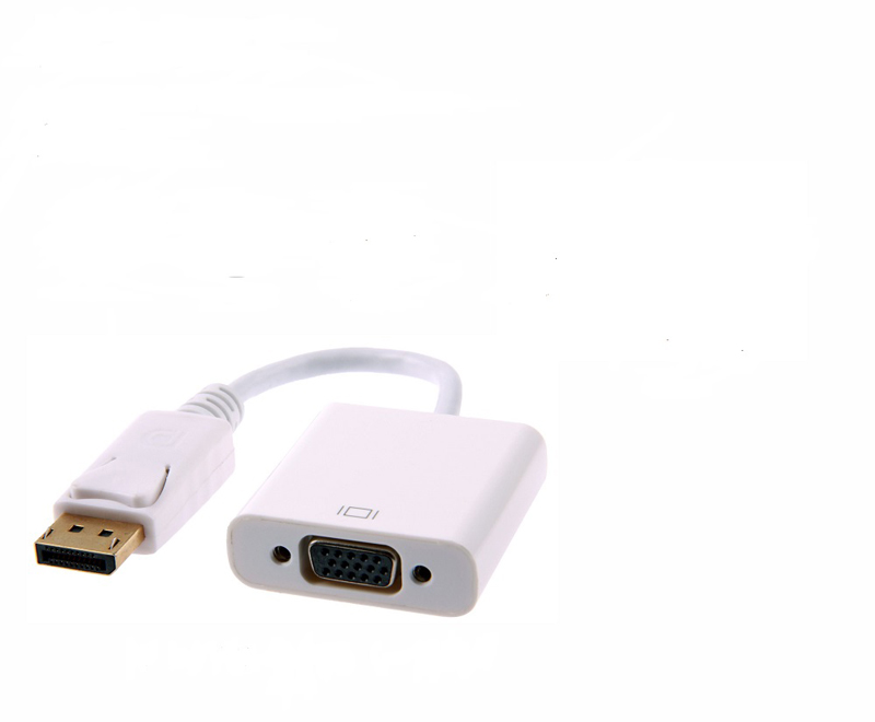 High quality audio video cable Displayport male to VGA female converter