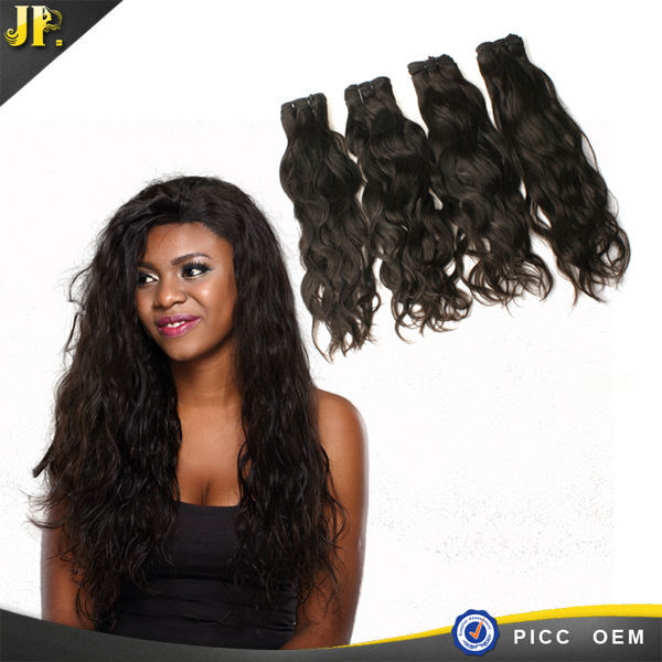 Charming JP hair 100% natural weave styles for black women