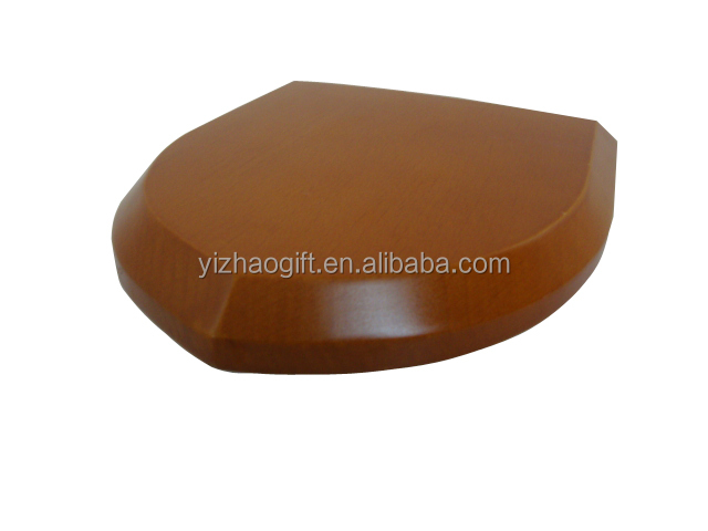 Wooden trophy base for sculpture YZ-0001