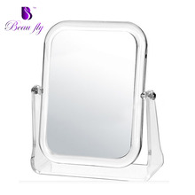 Hot Desktop Acrylic Mirror Table Standing Cosmetic Mirror