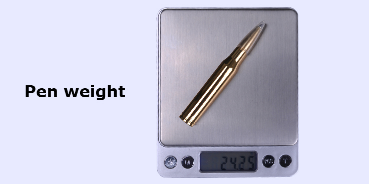 NEW ARRIVAL,Metal ball pen,bullet pen with metal gun clip for promotion gift