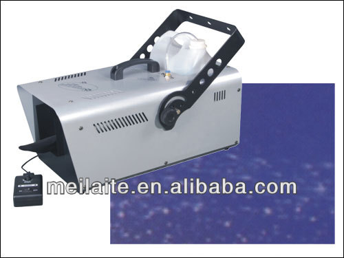 Stage effect light 1500W indoor snow machine