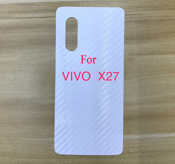 Vinyl Carbon fiber Back protective skin sticker film for Vivo X27