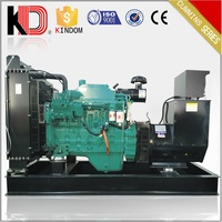 50kw ce approved water-cooled open type diesel generator with Cummins engine