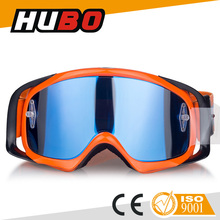 2015 high impact PC lens fashion motocross goggles motorcycle for sale