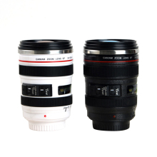 Caniam 24-105mm 6th Camera Lens Styled Souvenir Coffee Travel Mug Custom Printed