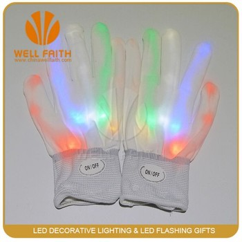 Factory Make Up Led Glove For Concert,Show,Party and Festival