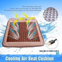 CAS2-5-3-2 Summer Office Chair Cooling Silicone Seat Cushion