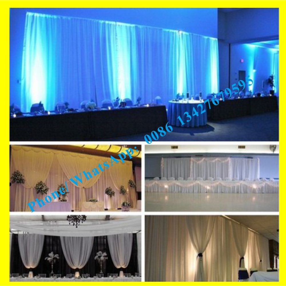 Wedding Pary Wedding Silver Bubbles Curtain Kits Stand