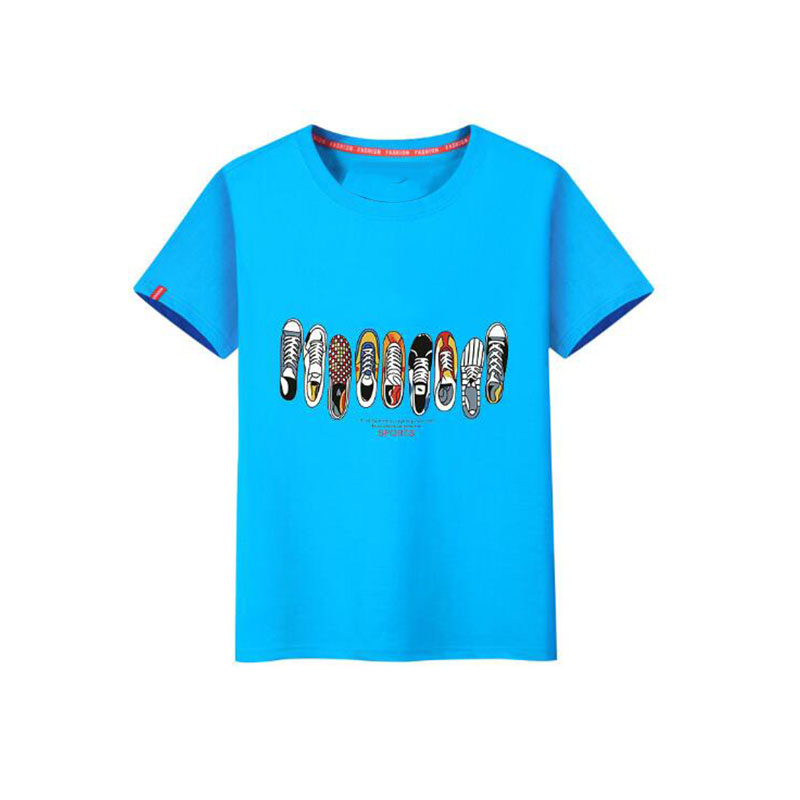 100% cotton custom wholesale high quality new fashion model super soft t-shirt sport