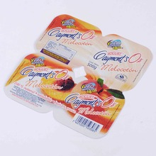 SGS Certificate Die Cut Aluminium Foil lid Butter Packaging
