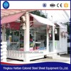 Outdoor fast food kiosk design china mobile container coffee shop prefabricated shopping ice cream container design