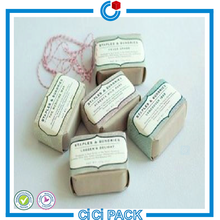 China supplier popular recyclable eco-friendly handmade custom wholesale soap packaging
